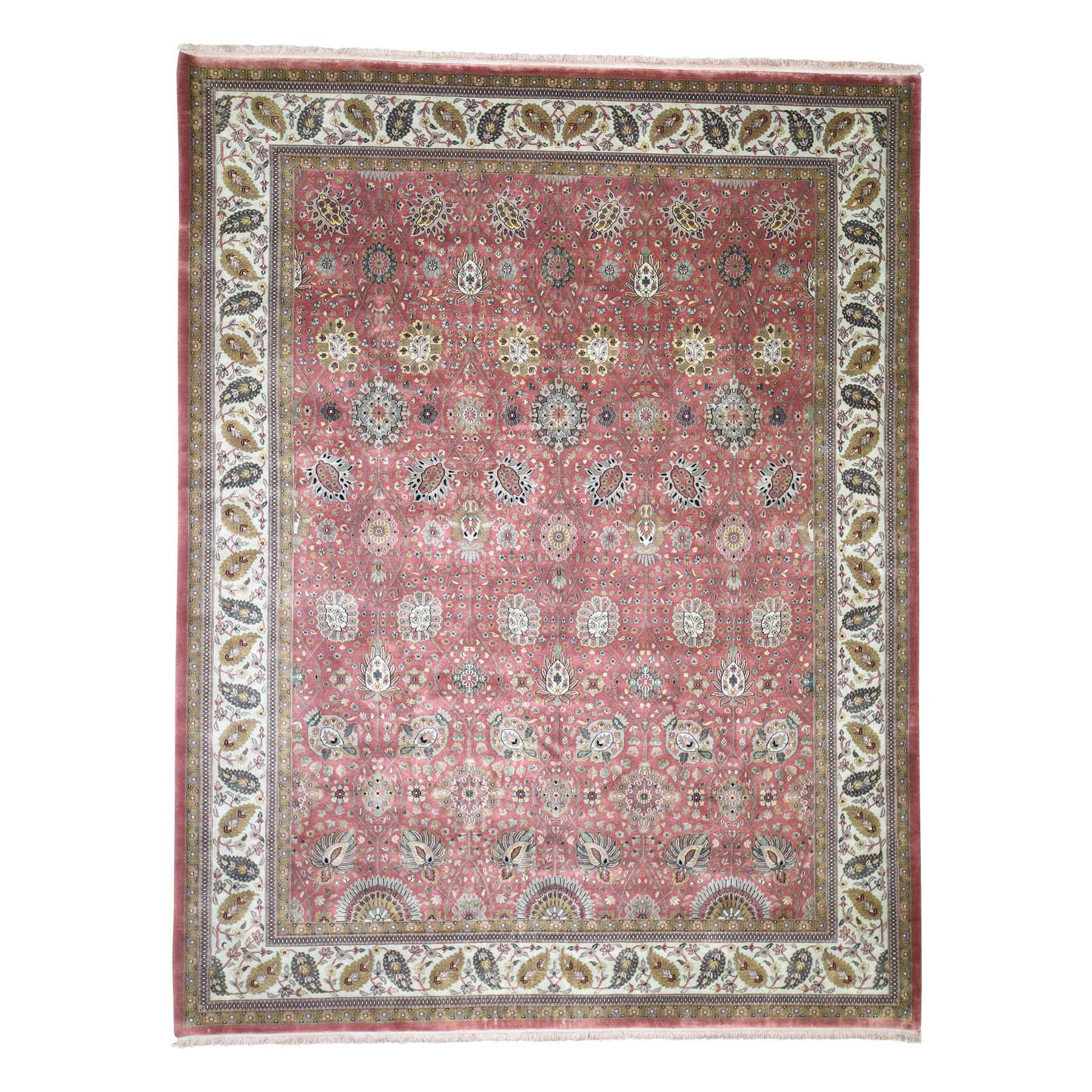 Pirniakan Collection Hand Knotted Red Rug No: 190244