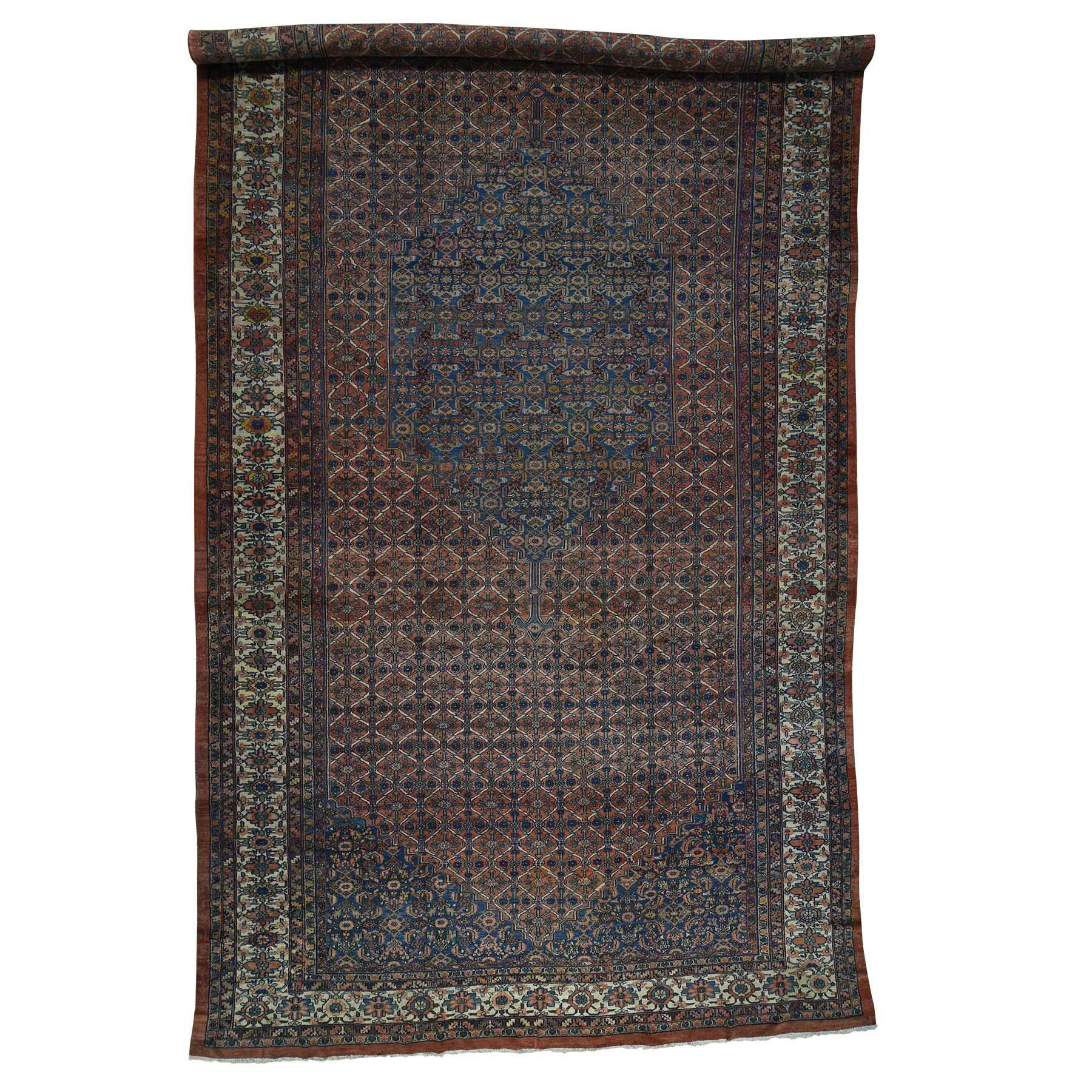 Antique Collection Hand Knotted Red Rug No: 171900
