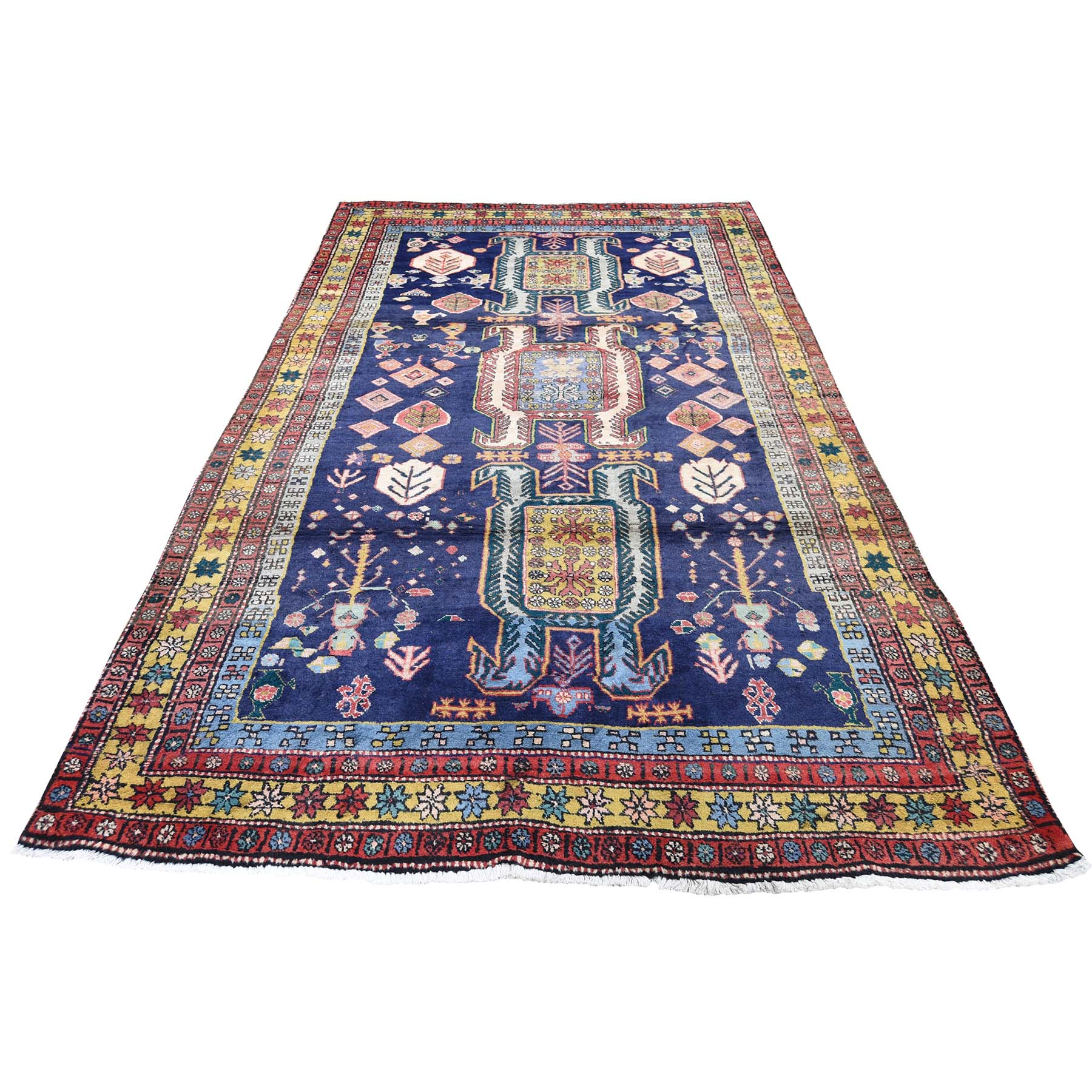 Classic Persian Collection Hand Knotted Blue Rug No: 0190722