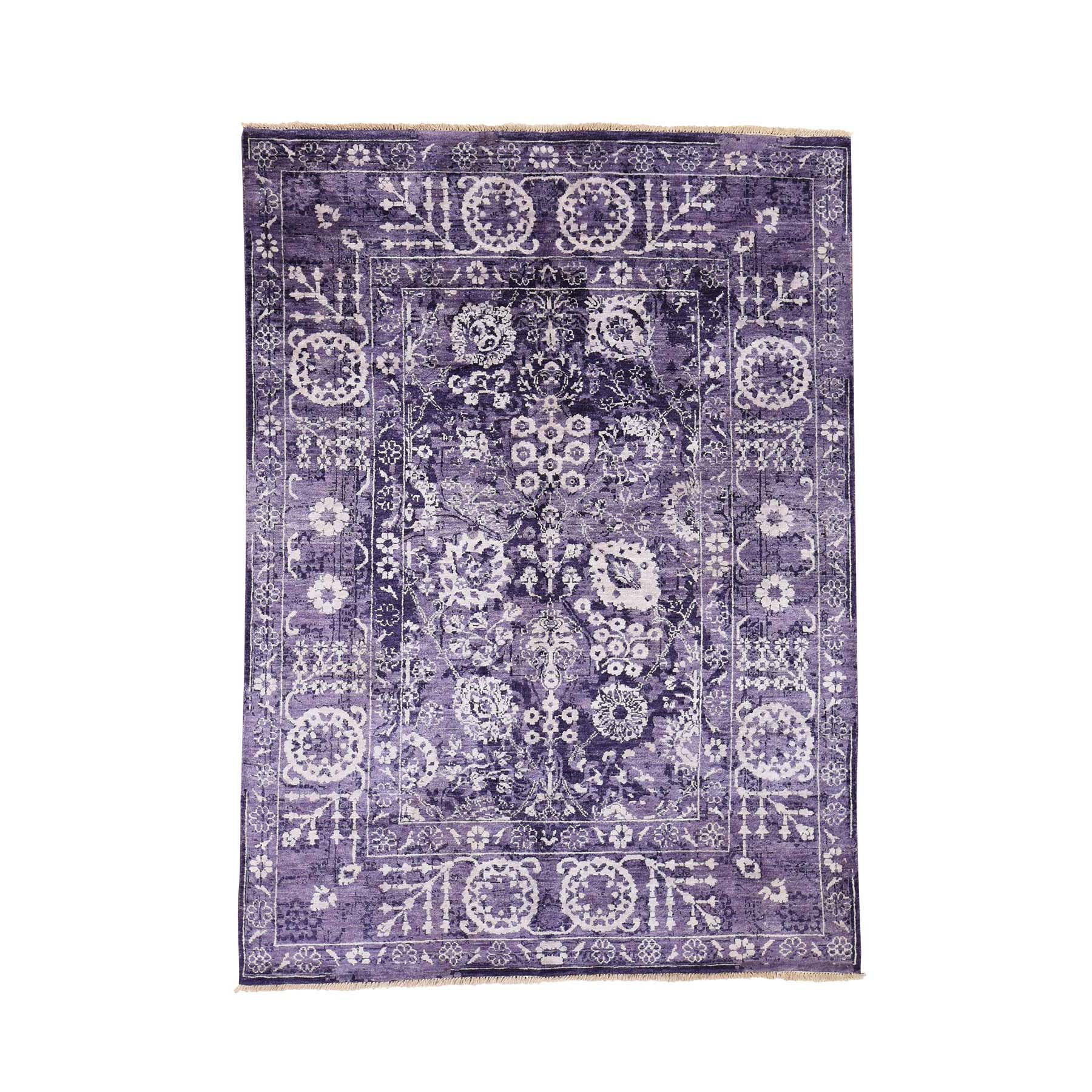 Pirniakan Collection Hand Knotted Purple Rug No: 190880