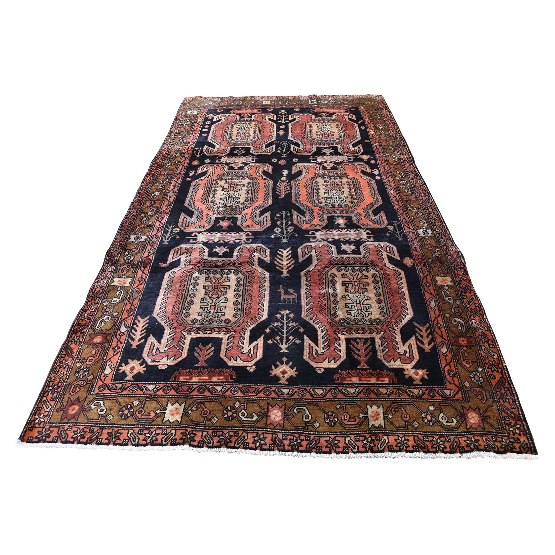 Classic Persian Collection Hand Knotted Blue Rug No: 0190774