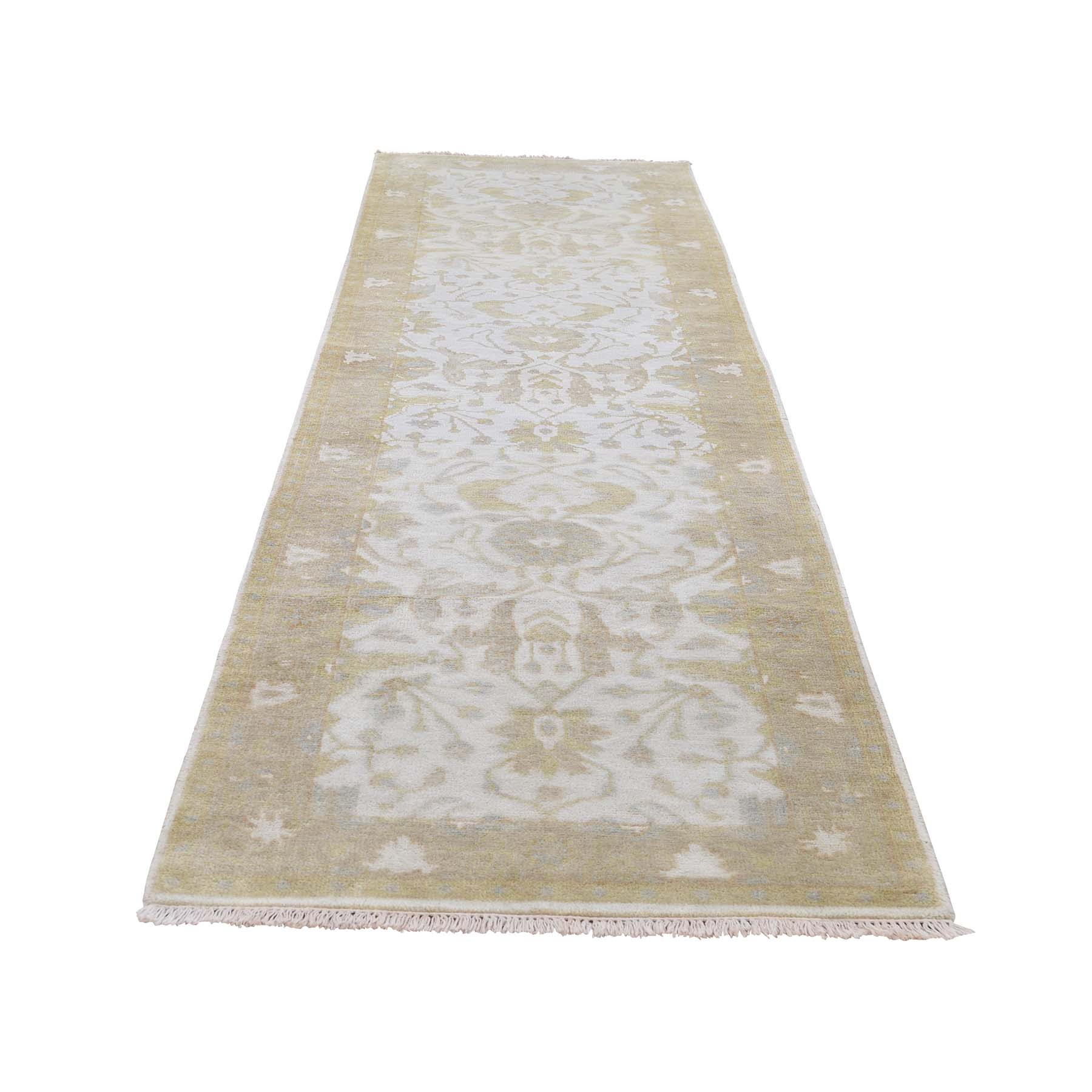 Agra And Turkish Collection Hand Knotted Grey 0188132 Rug