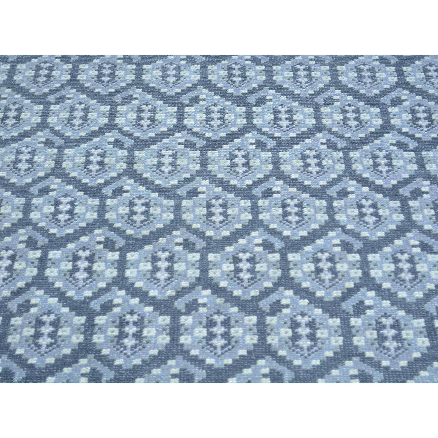 Agra And Turkish Collection Hand Knotted Grey 0157282 Rug