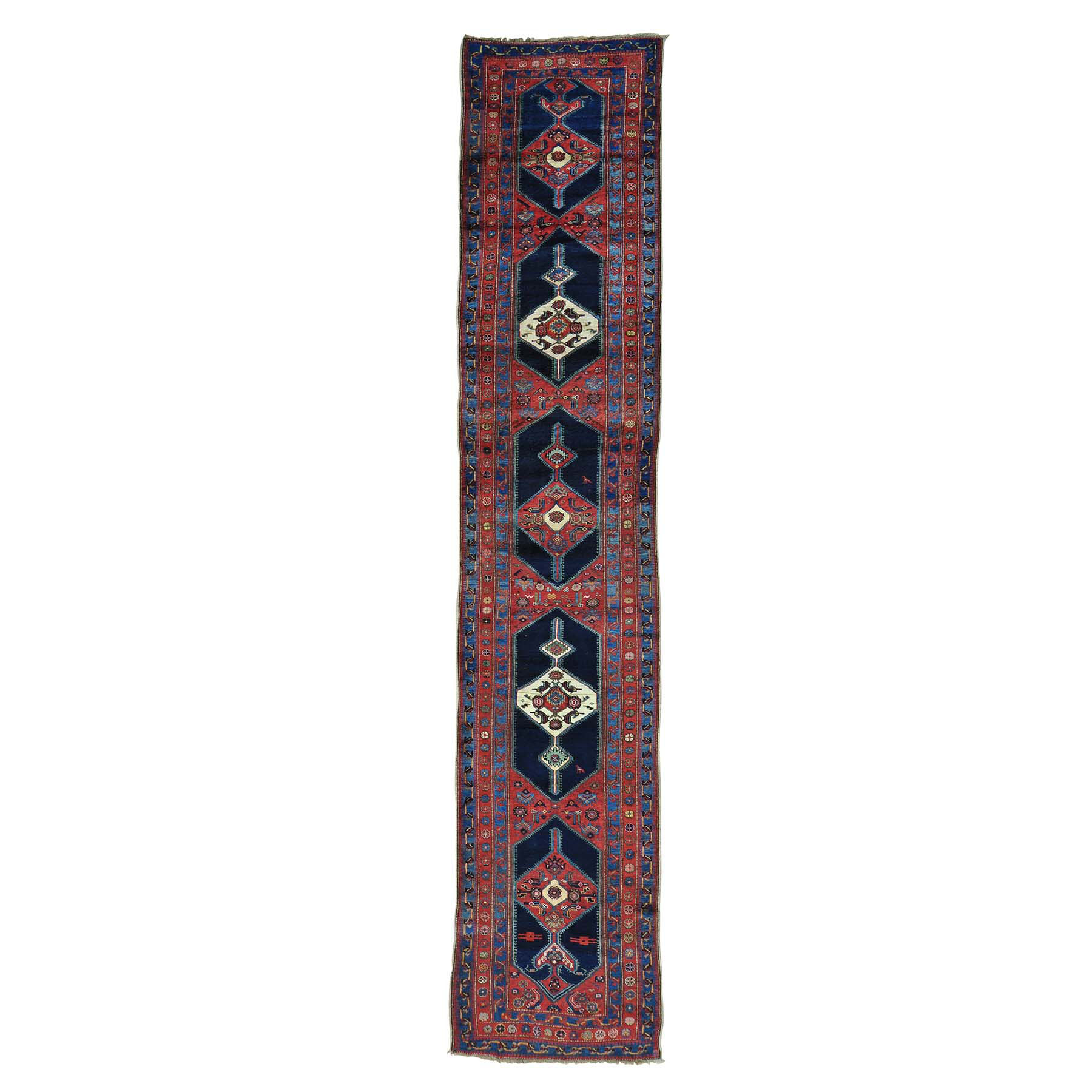 Antique Collection Hand Knotted Red Rug No: 0157398