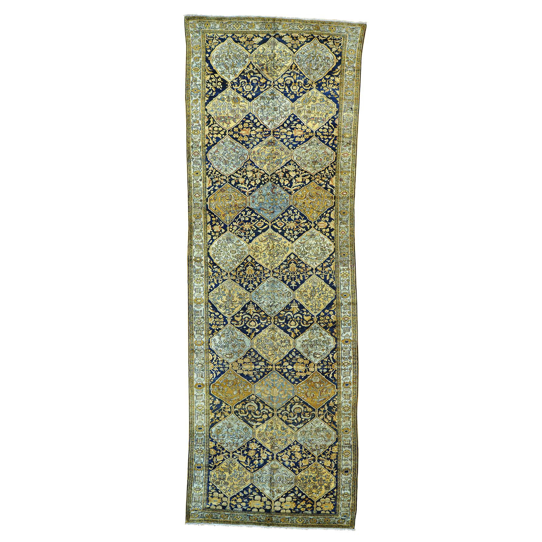 Antique Collection Hand Knotted Blue Rug No: 154348