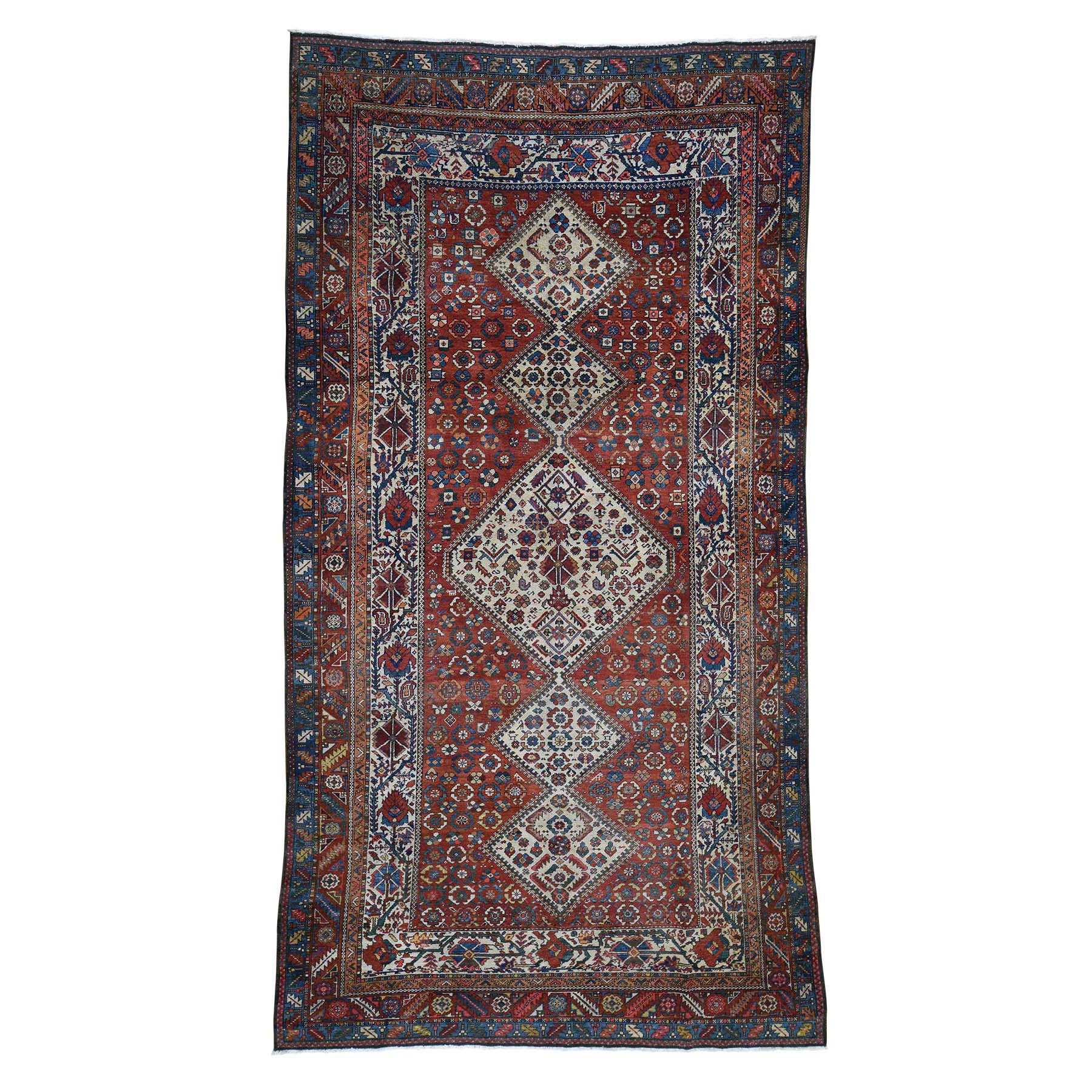 Antique Collection Hand Knotted Red Rug No: 191826
