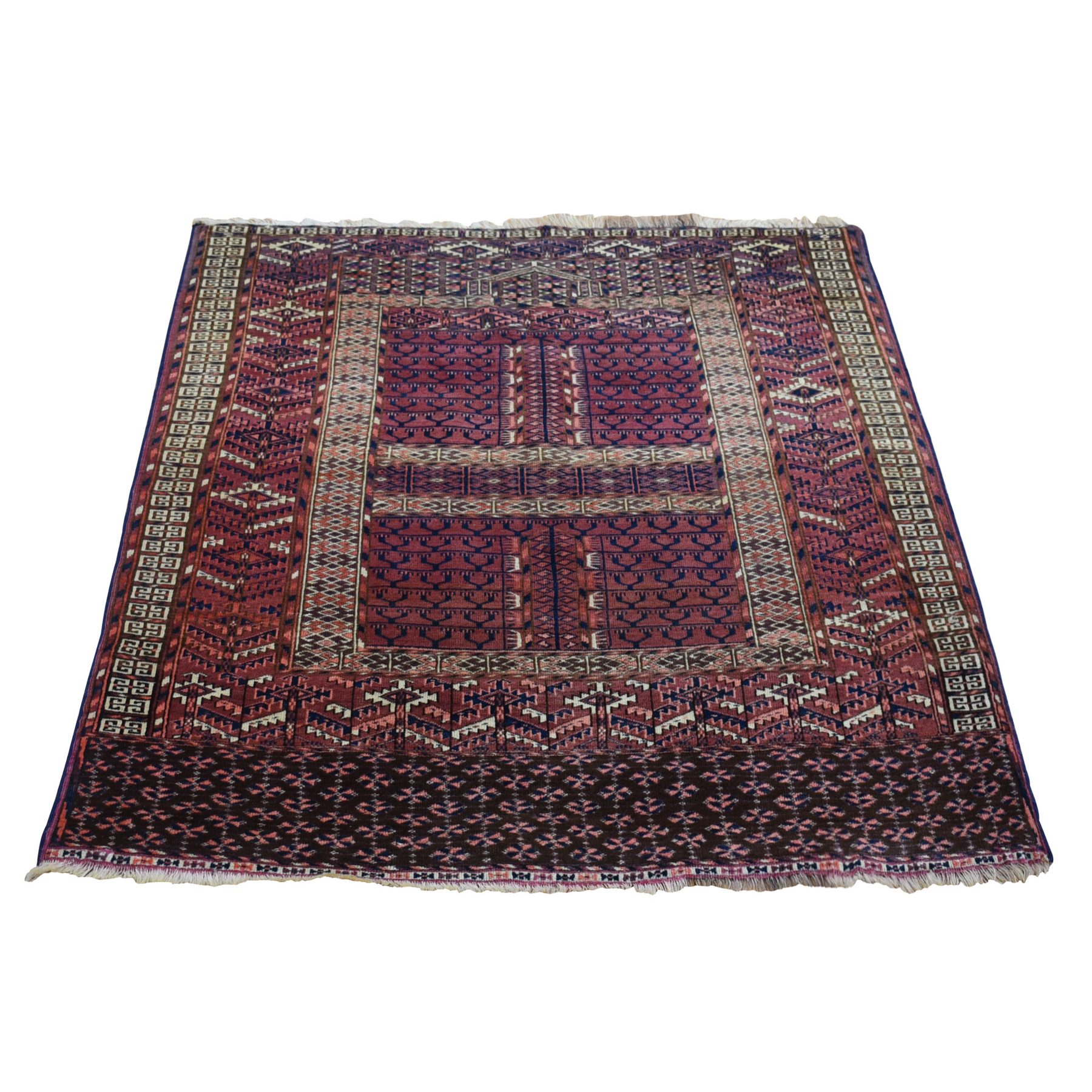 Antique Collection Hand Knotted Red Rug No: 1133742