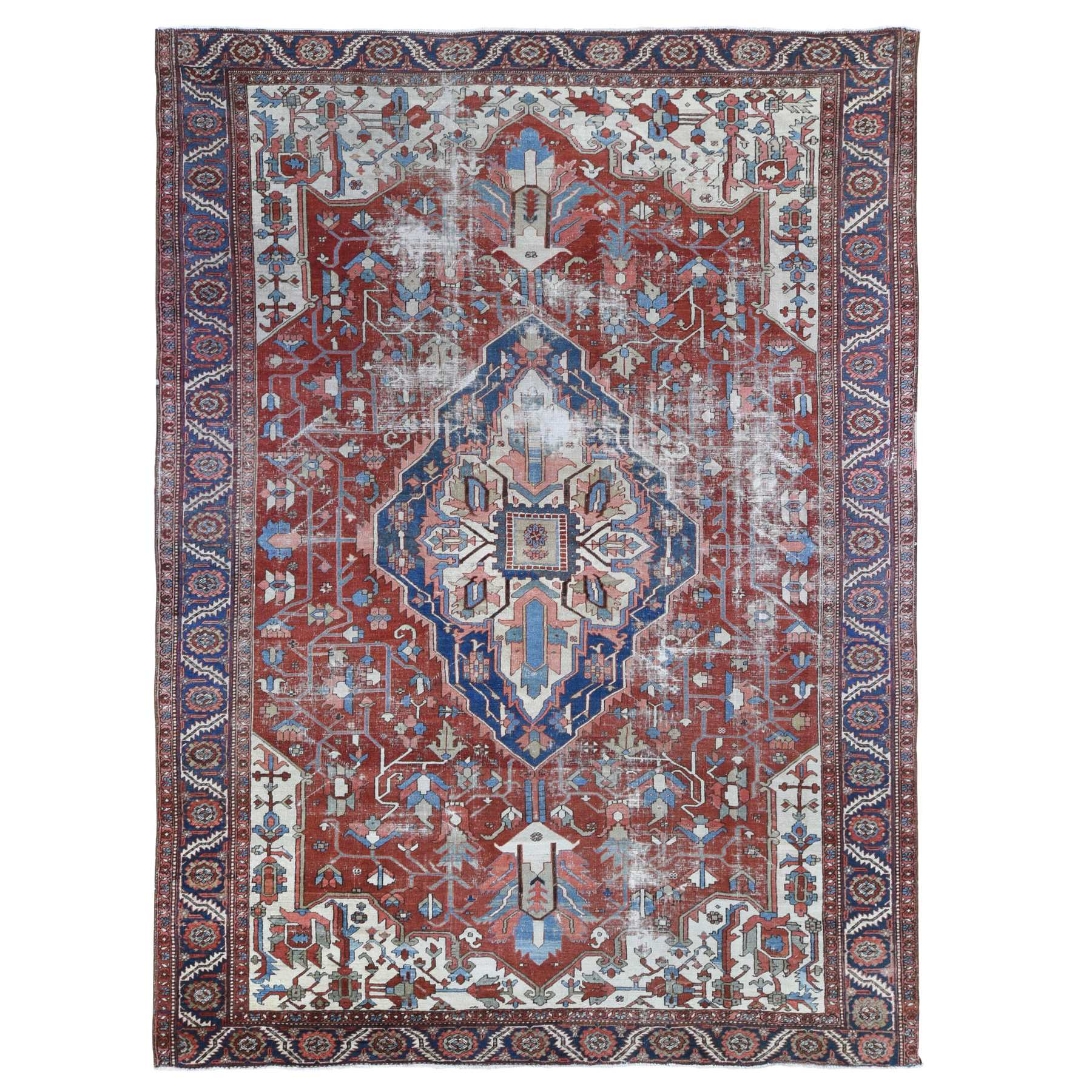 Antique Collection Hand Knotted Red Rug No: 1133862