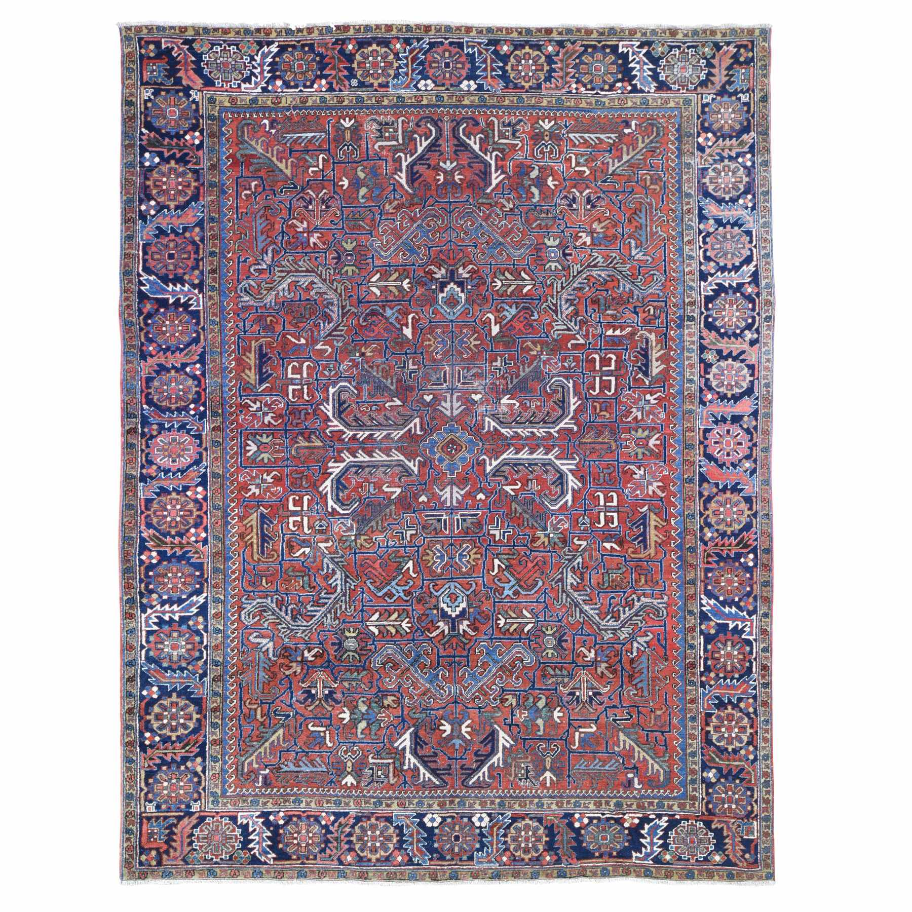 Antique Collection Hand Knotted Red Rug No: 1133864