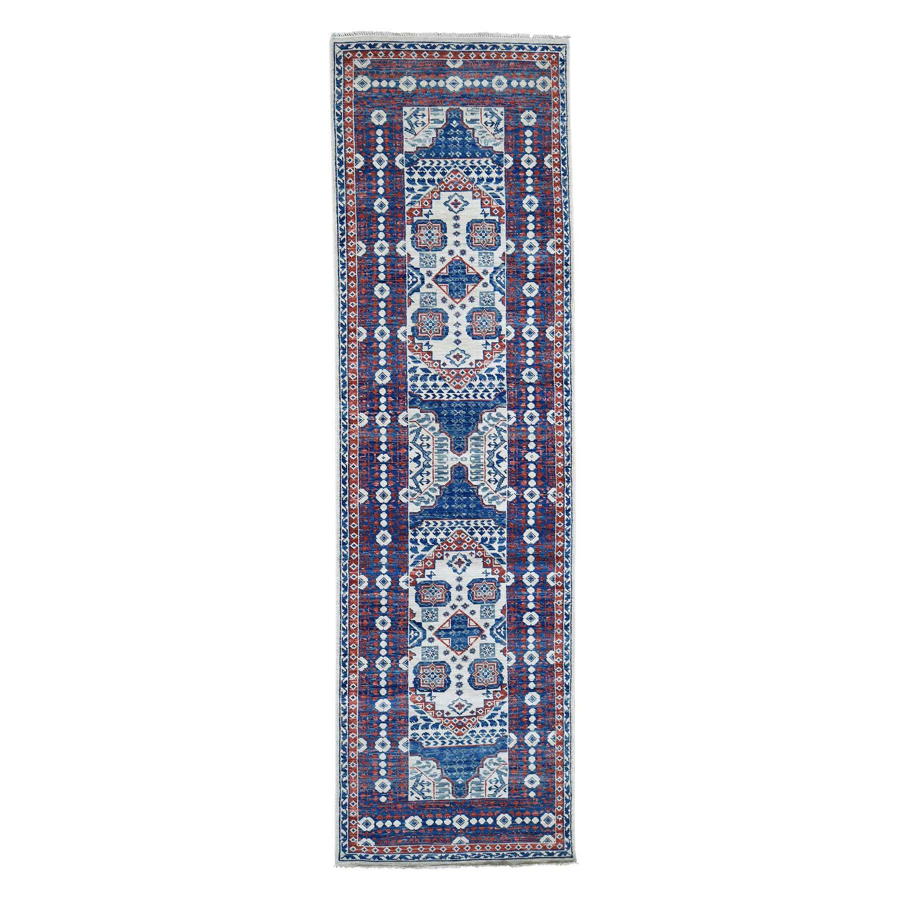 Intricate Collection Hand Knotted Ivory Rug No: 0191792