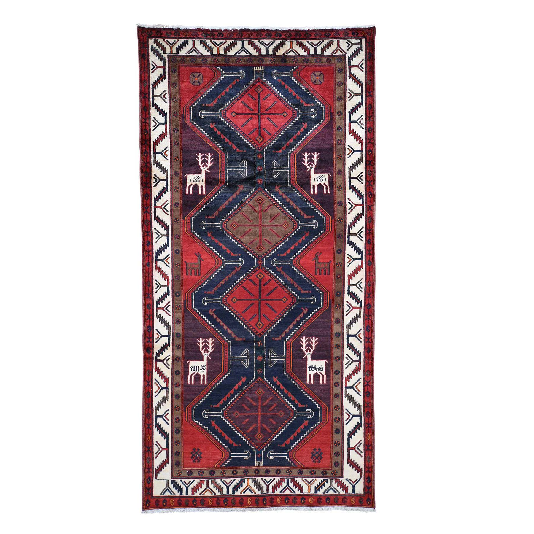 Classic Persian Collection Hand Knotted Red Rug No: 0191648
