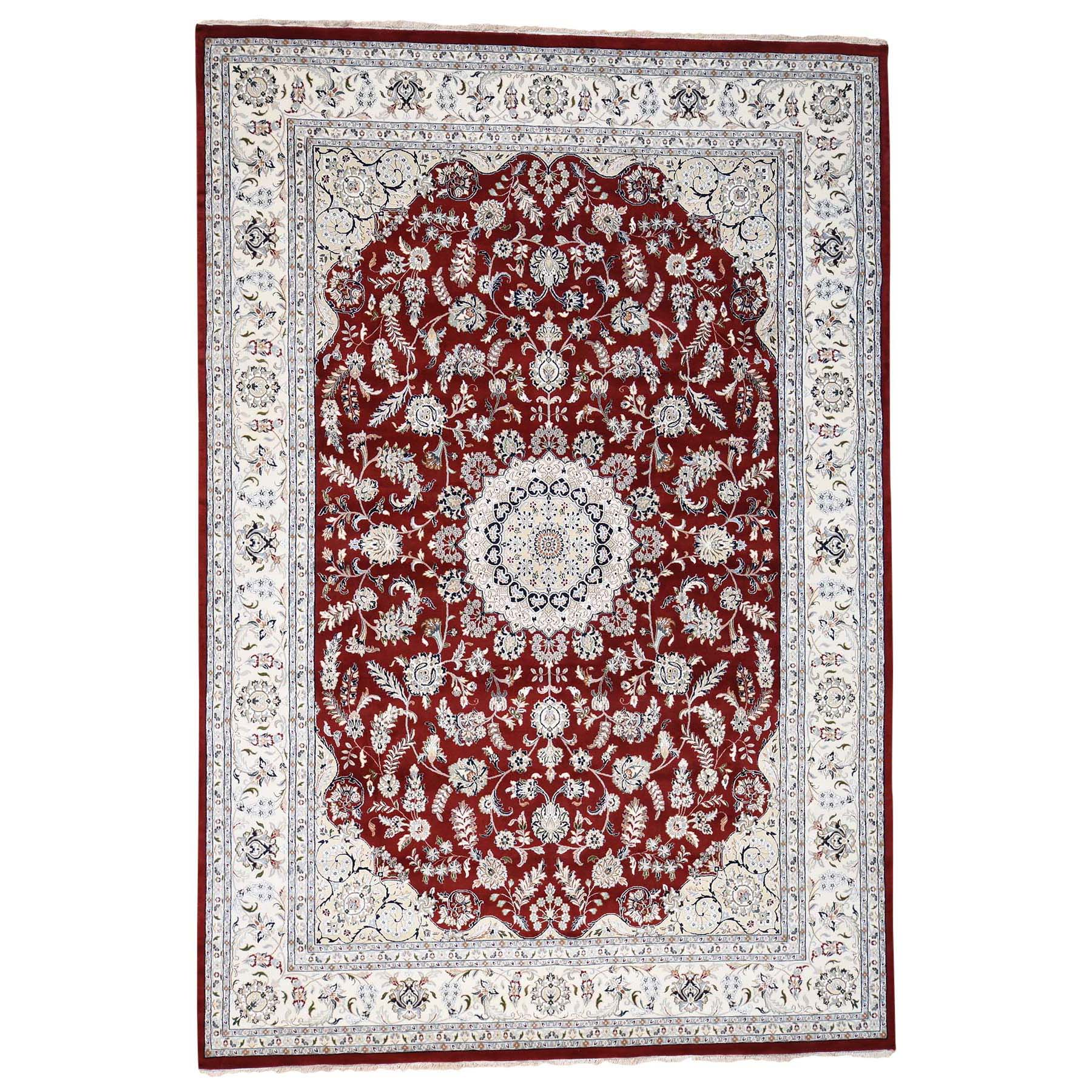 Pirniakan Collection Hand Knotted Red Rug No: 0192262