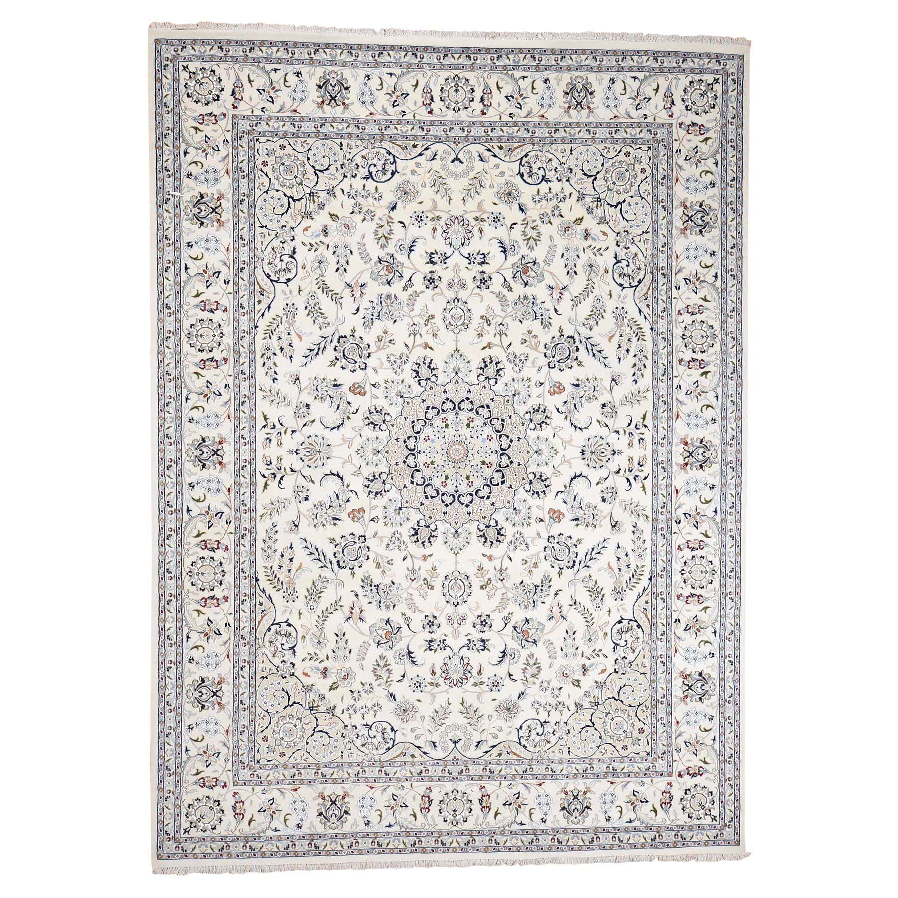 Pirniakan Collection Hand Knotted Ivory Rug No: 0192288