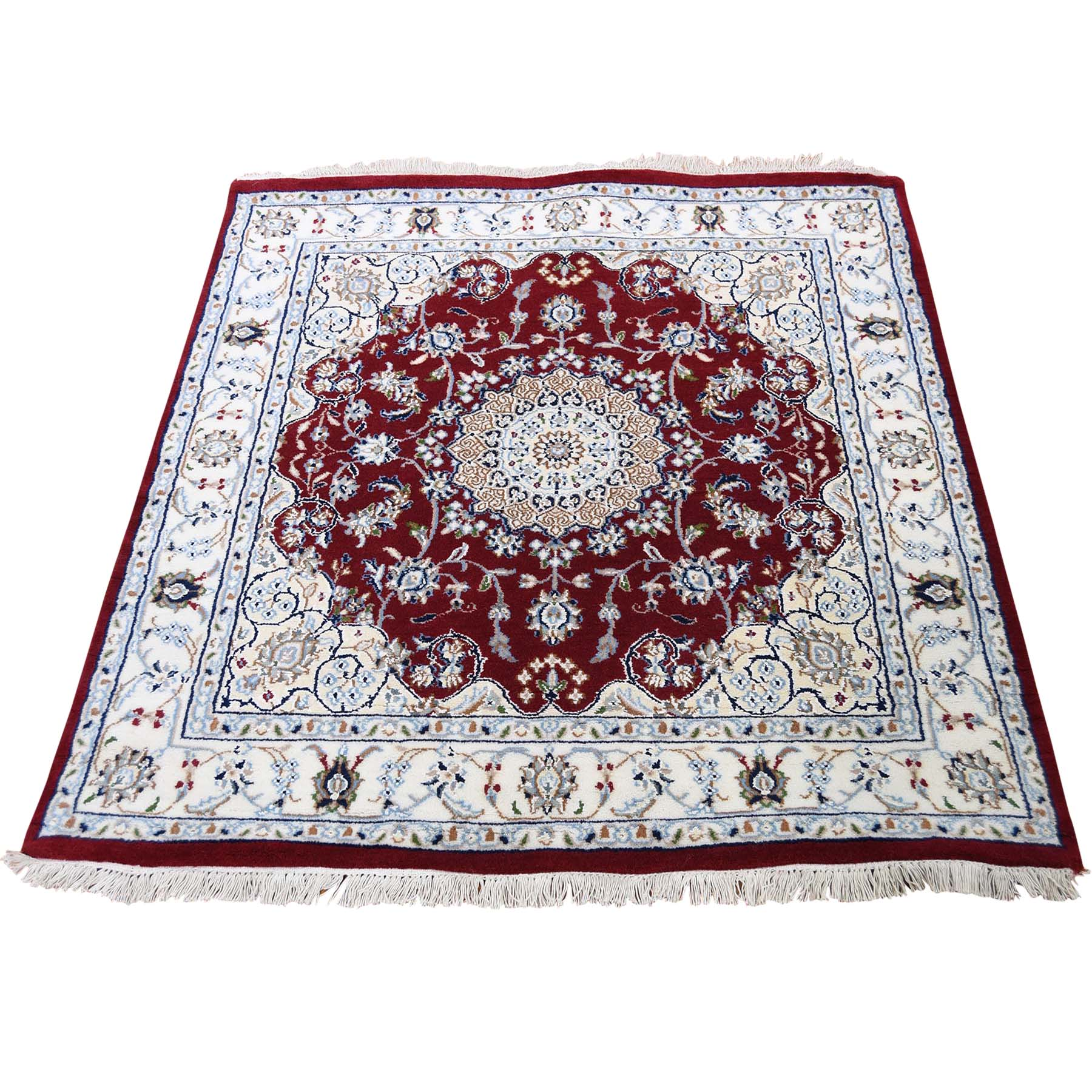 Pirniakan Collection Hand Knotted Red Rug No: 192316