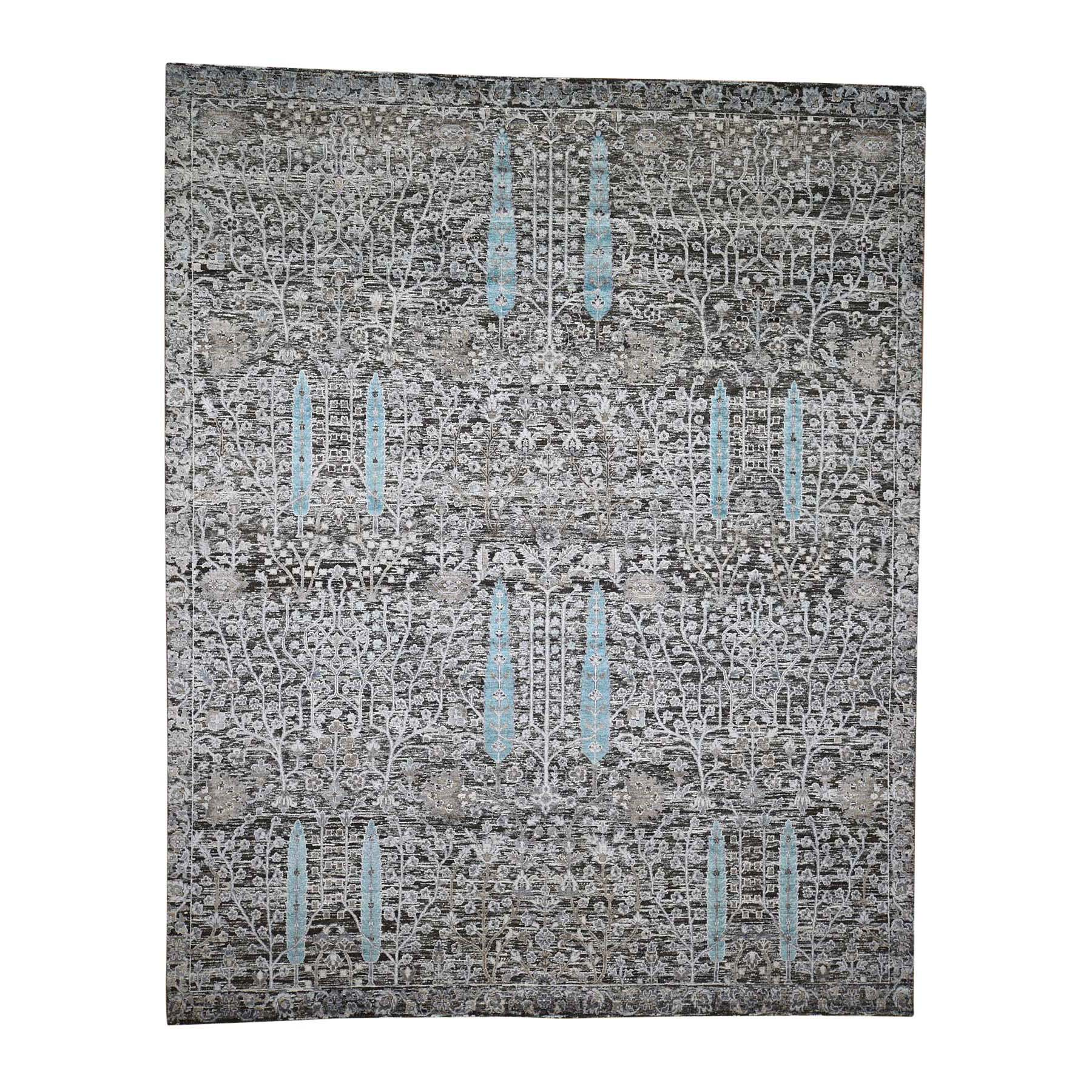 Pirniakan Collection Hand Knotted Grey Rug No: 0192334
