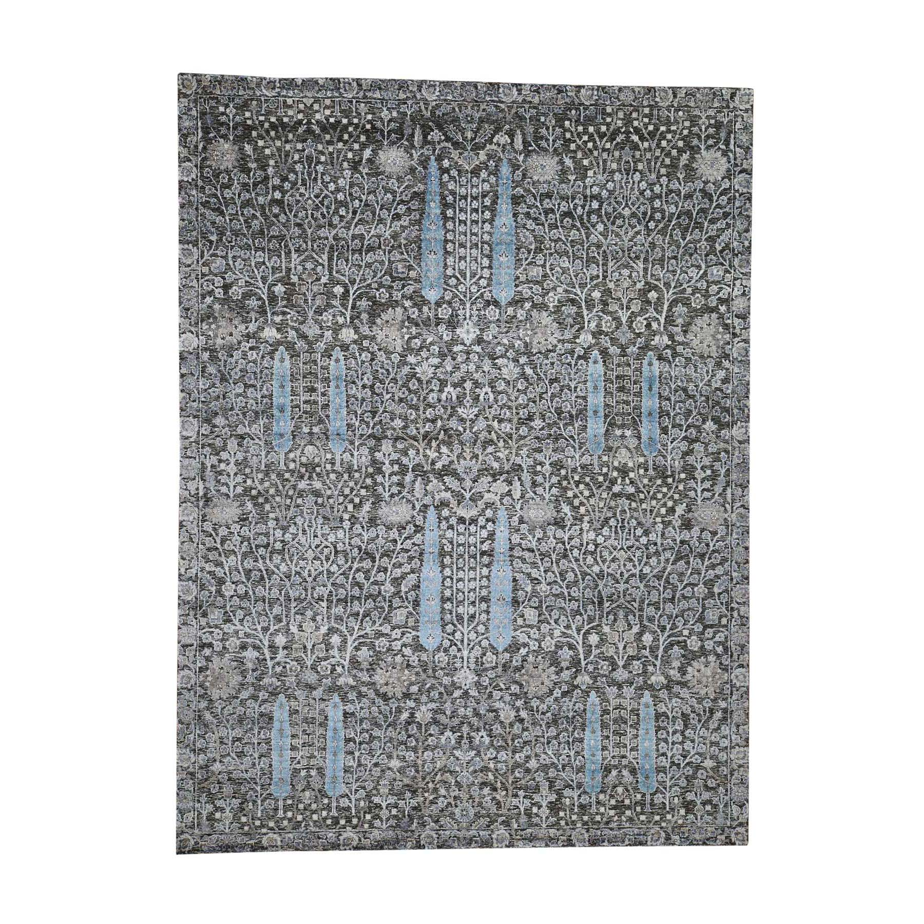 Pirniakan Collection Hand Knotted Grey Rug No: 0192338