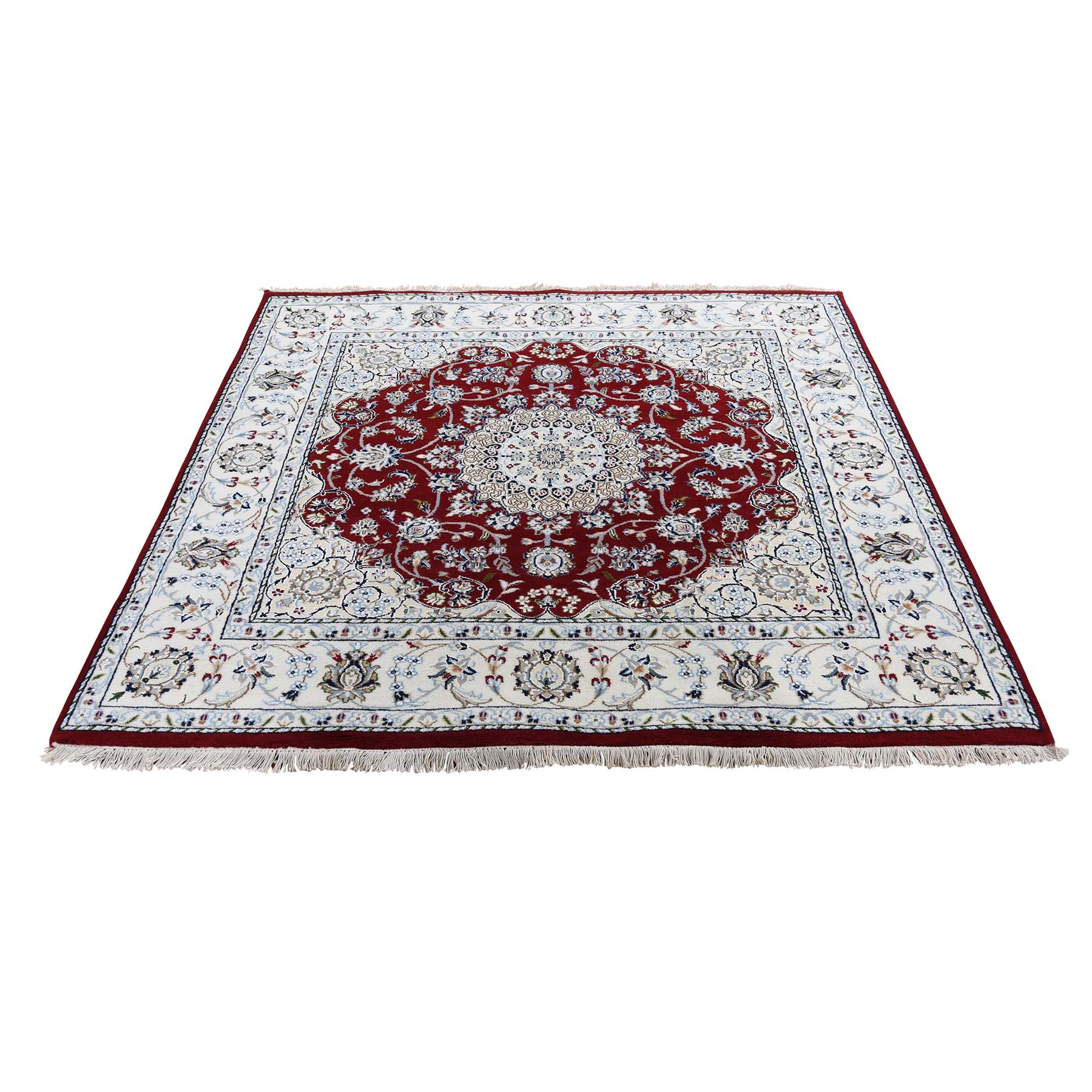 Pirniakan Collection Hand Knotted Red Rug No: 0192736