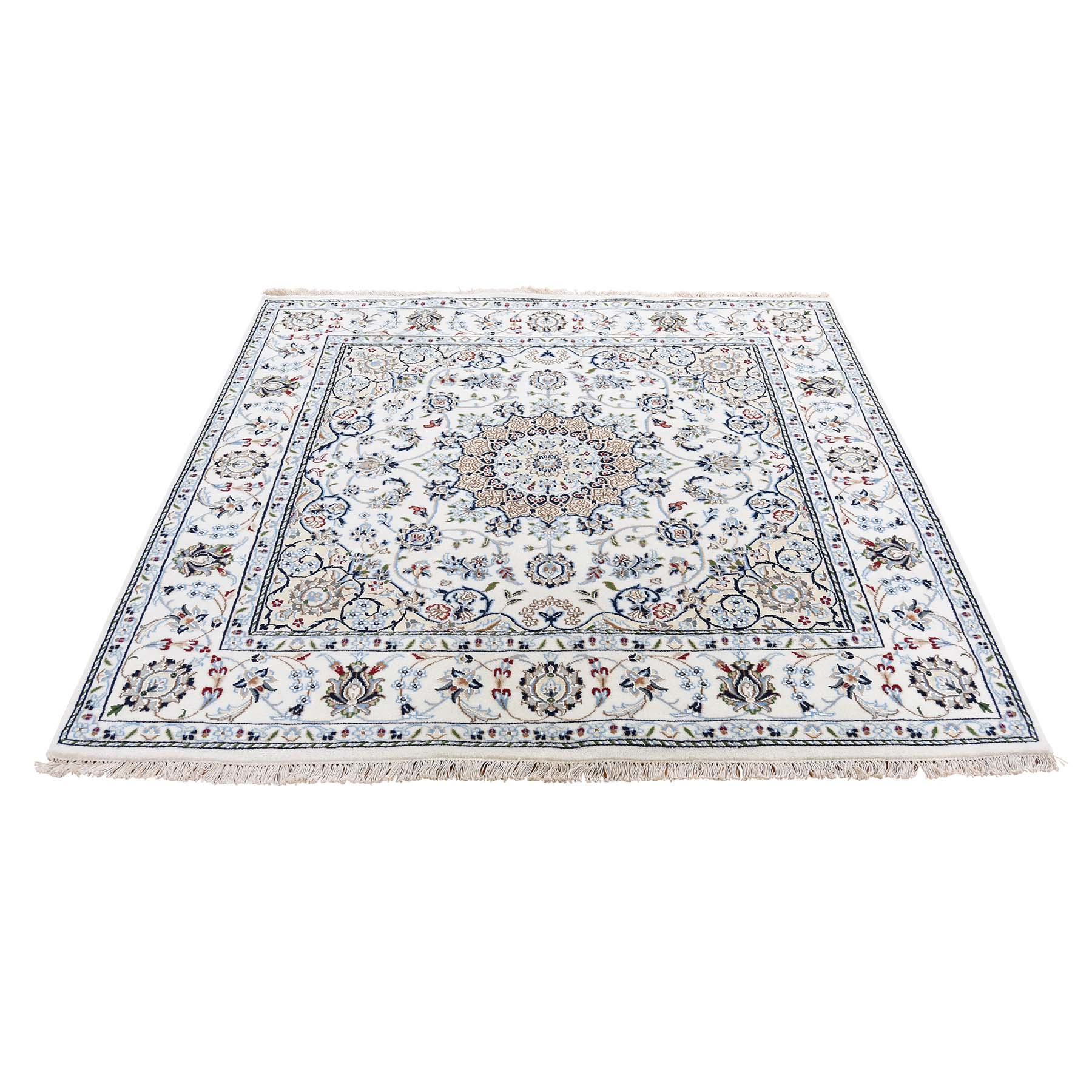 Pirniakan Collection Hand Knotted Ivory Rug No: 0192744