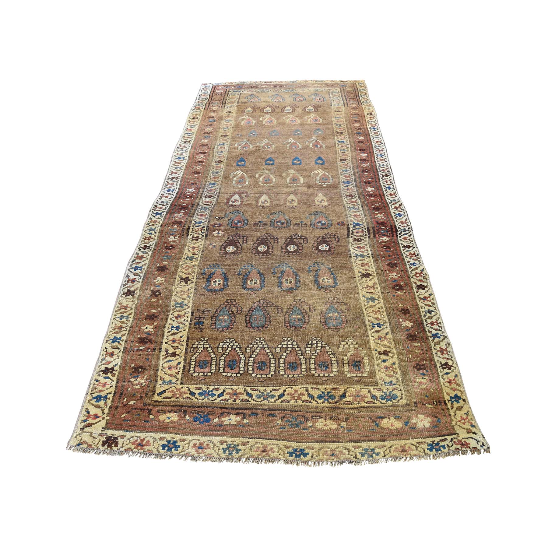Antique Collection Hand Knotted Brown Rug No: 0192860