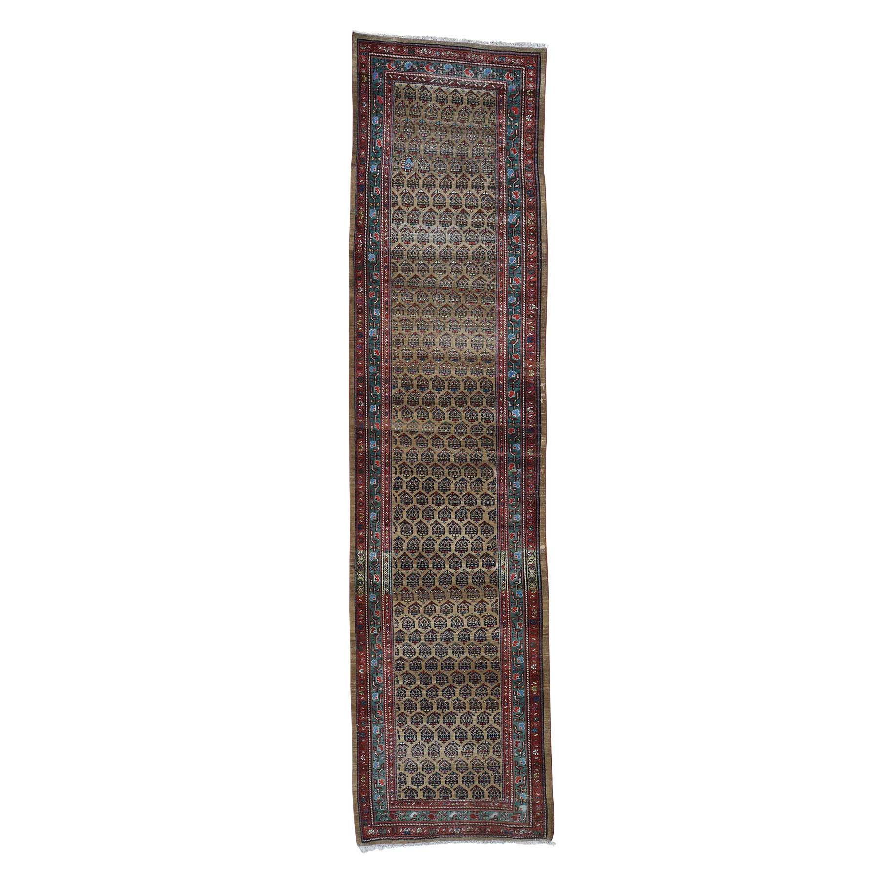Antique Collection Hand Knotted Brown Rug No: 0192862