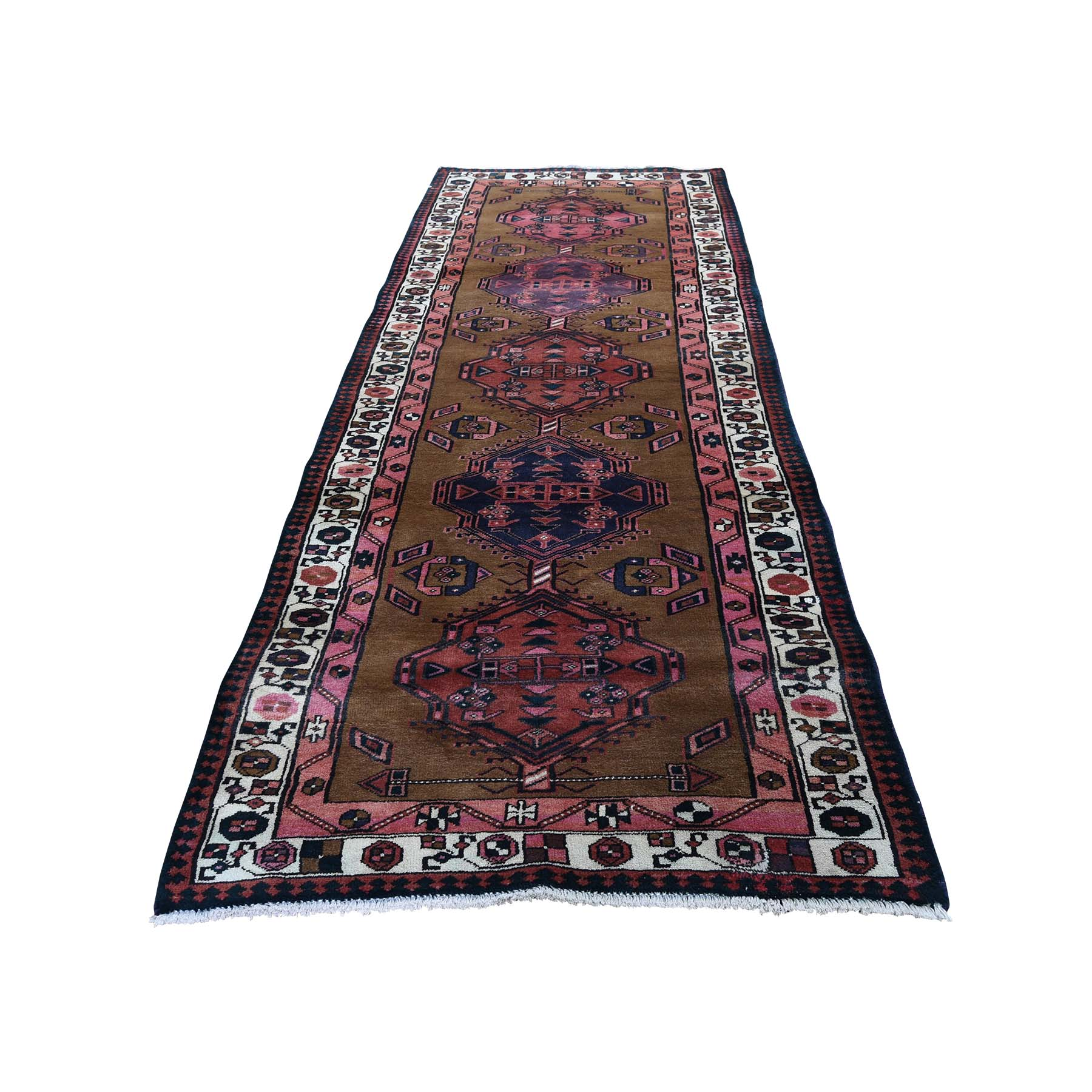 Classic Persian Collection Hand Knotted Brown Rug No: 0193252