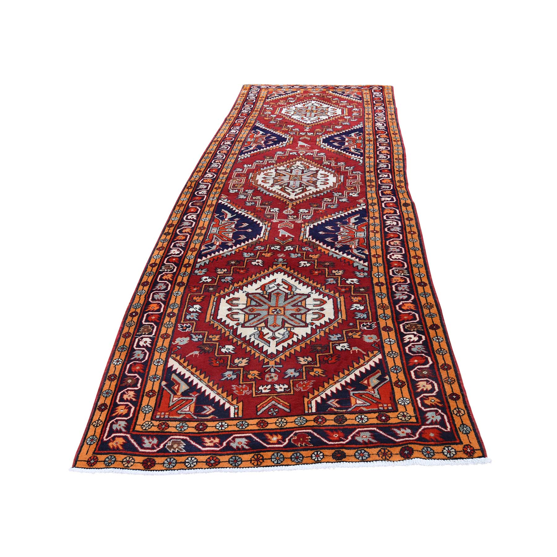 Classic Persian Collection Hand Knotted Red Rug No: 0193496