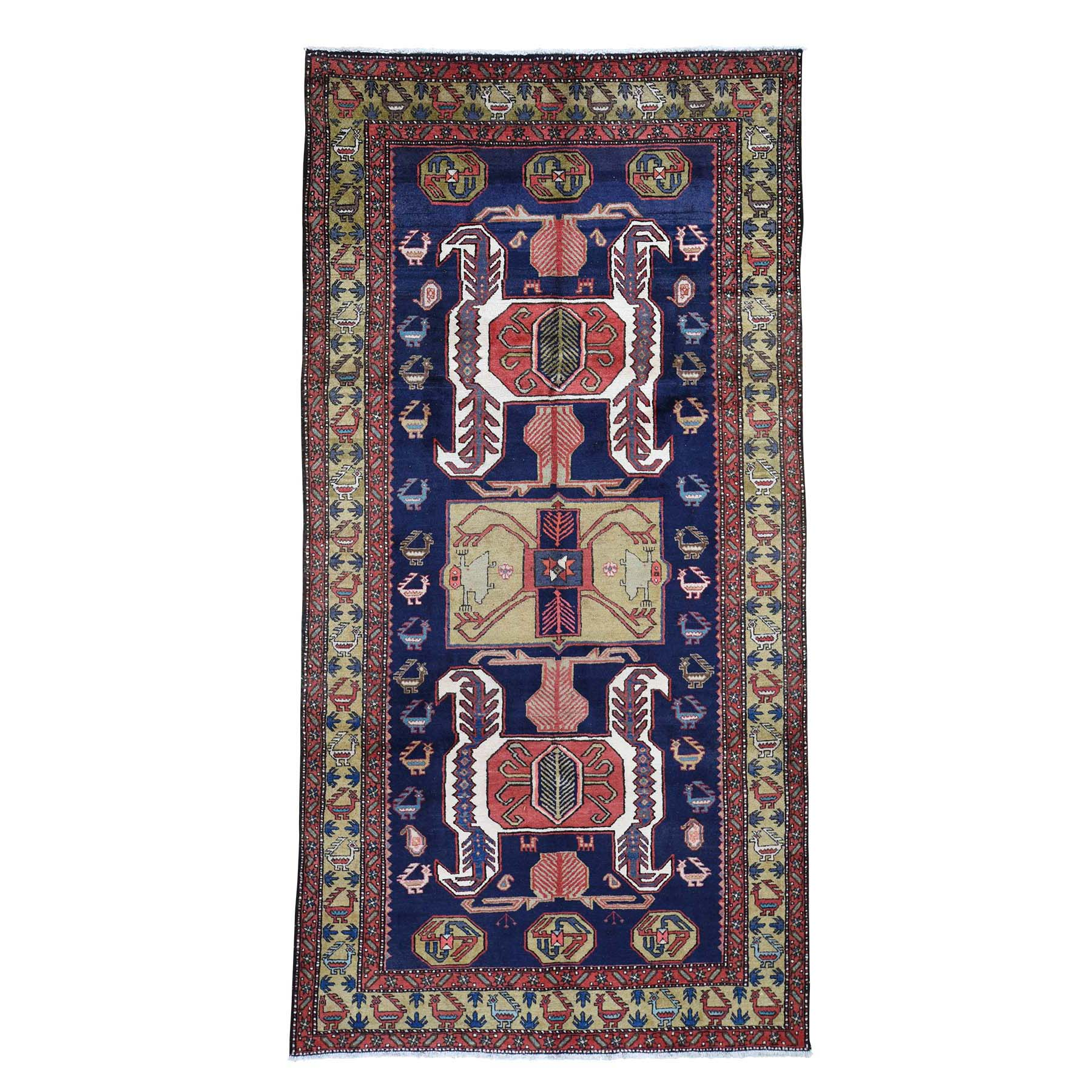 Classic Persian Collection Hand Knotted Blue Rug No: 0193500