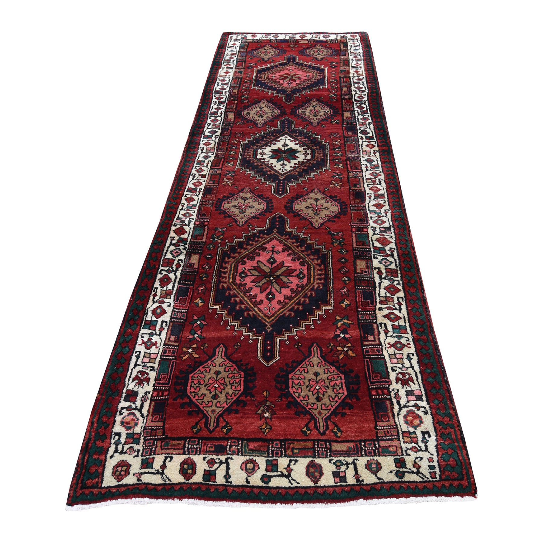Classic Persian Collection Hand Knotted Red Rug No: 0193572