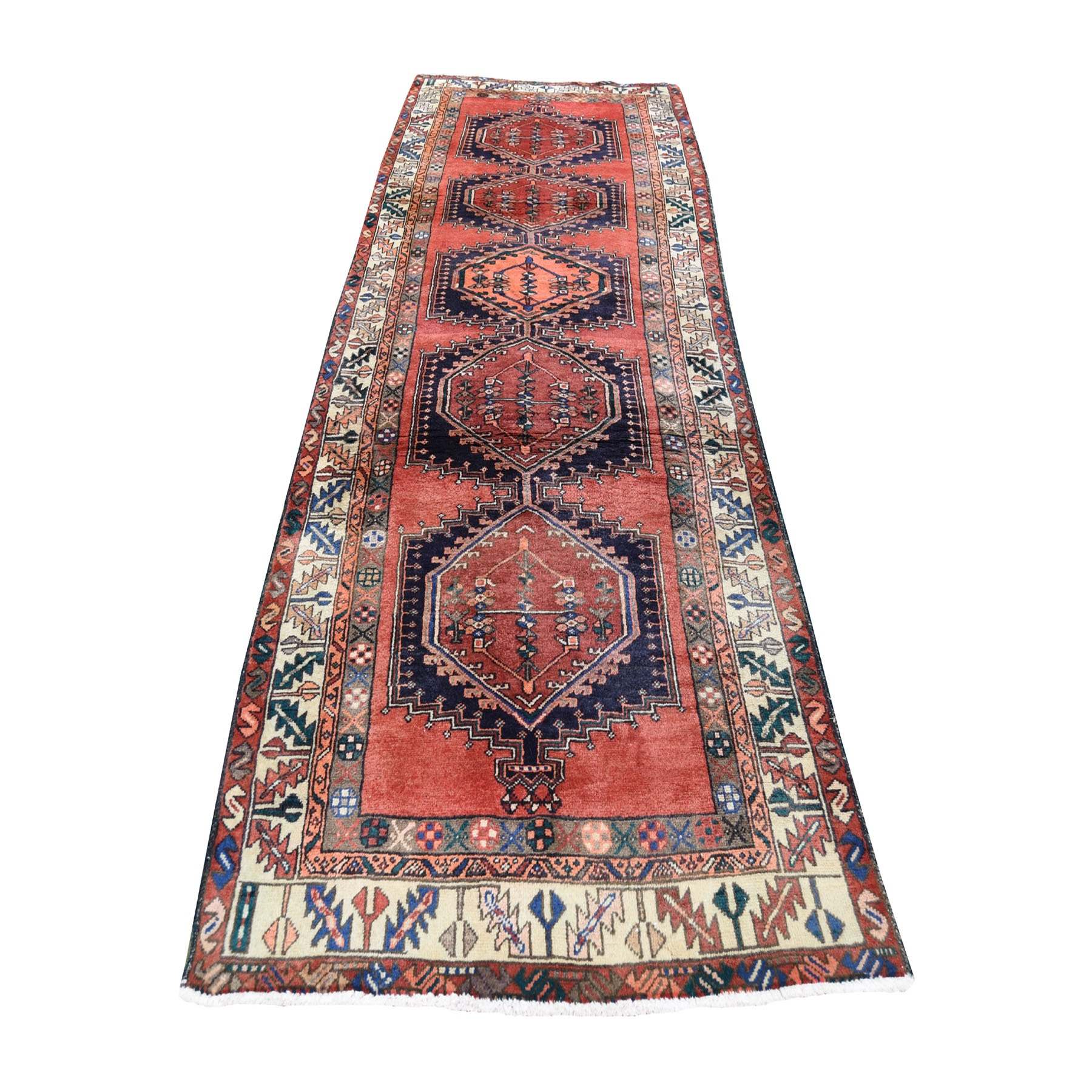 Classic Persian Collection Hand Knotted Red Rug No: 0193586