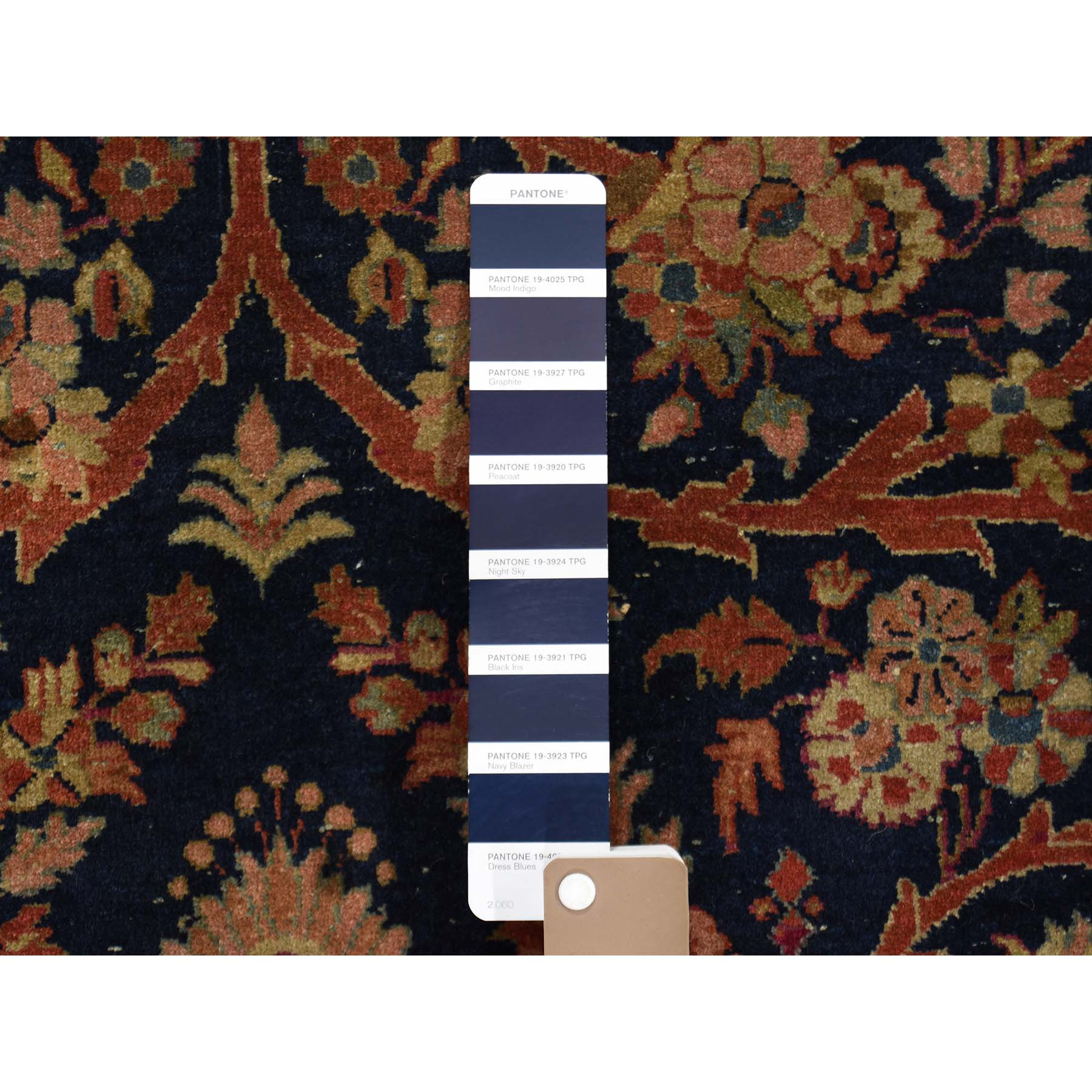 Antique Collection Hand Knotted Blue 0191870 Rug