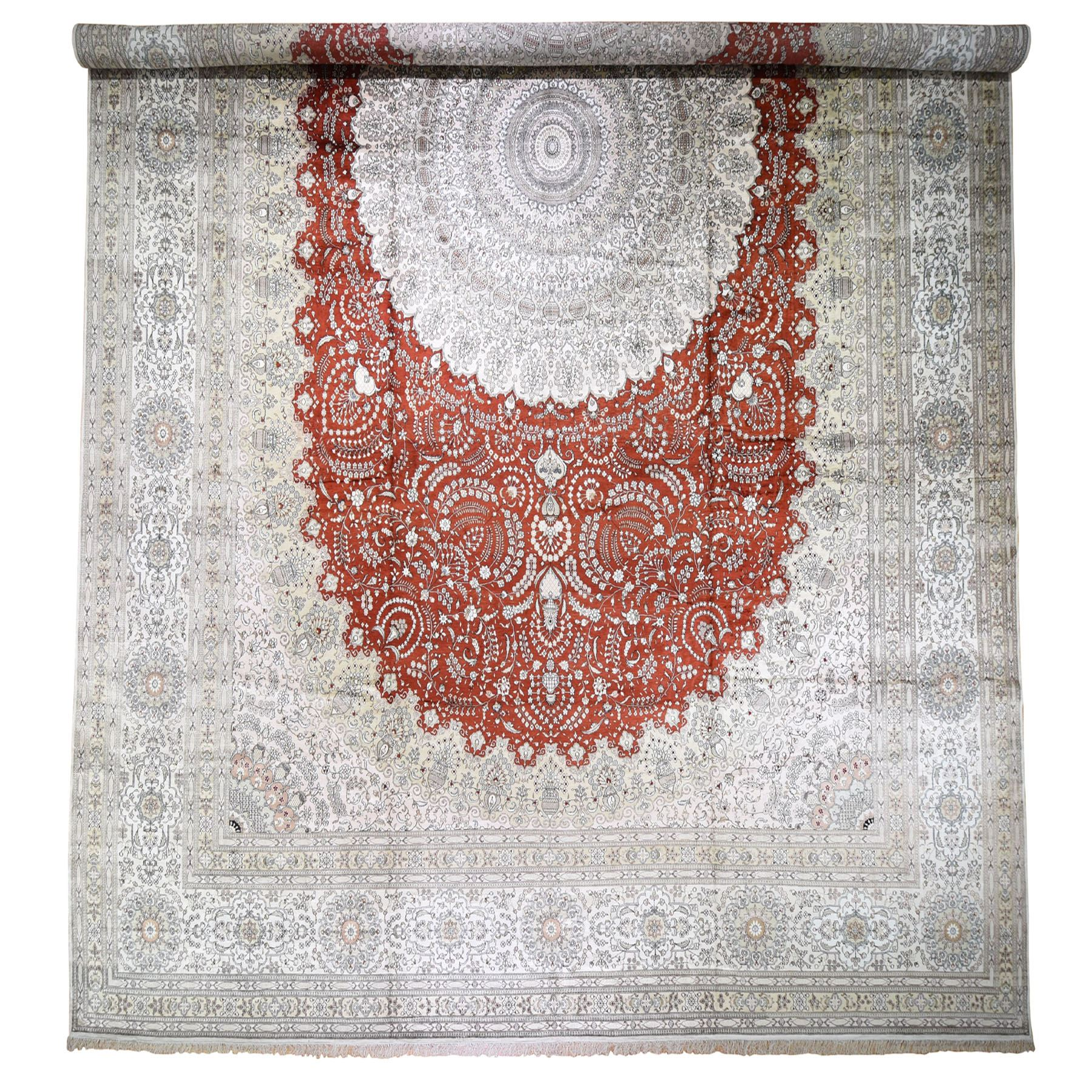 Pirniakan Collection Hand Knotted Red Rug No: 0193844