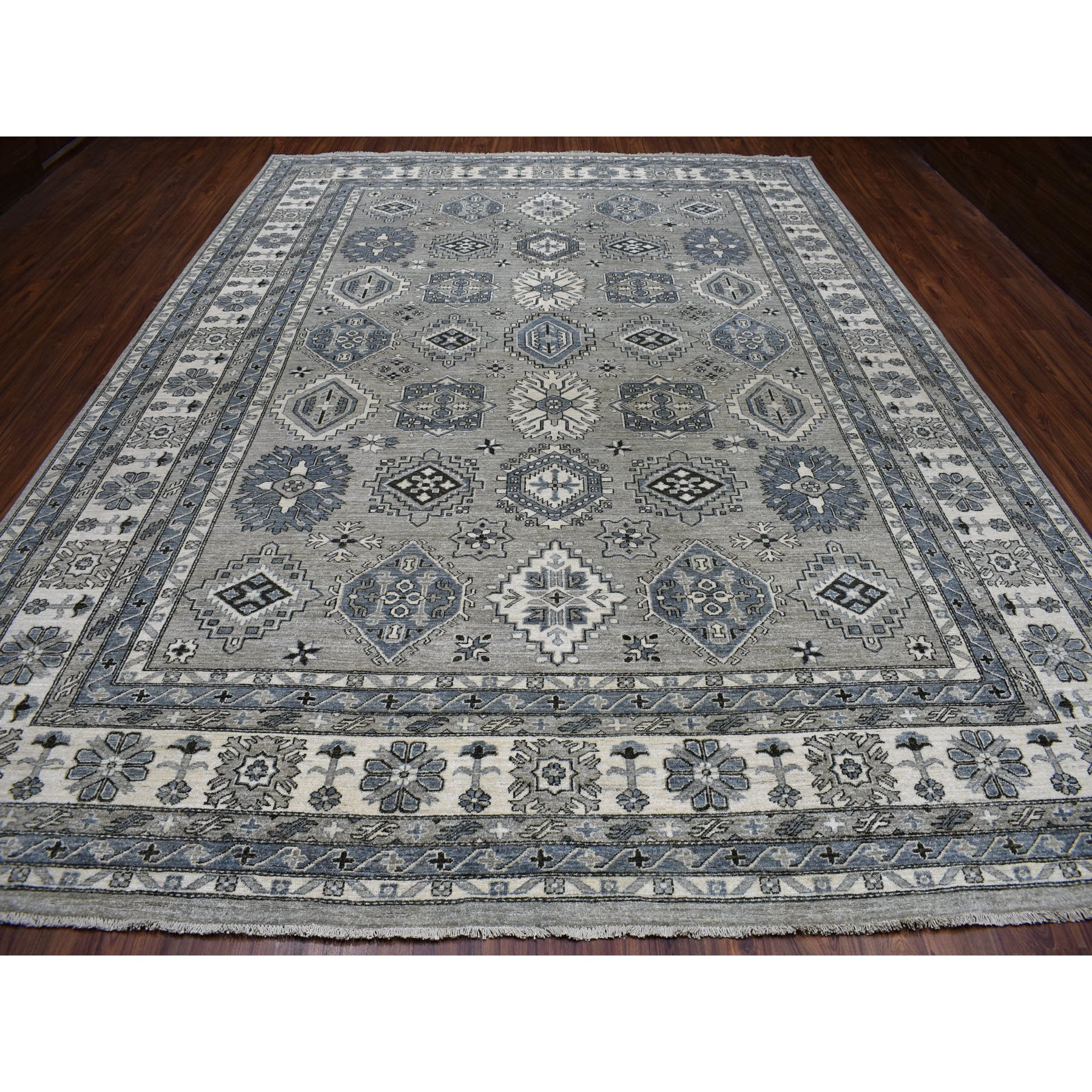 Agra And Turkish Collection Hand Knotted Grey 01102402 Rug