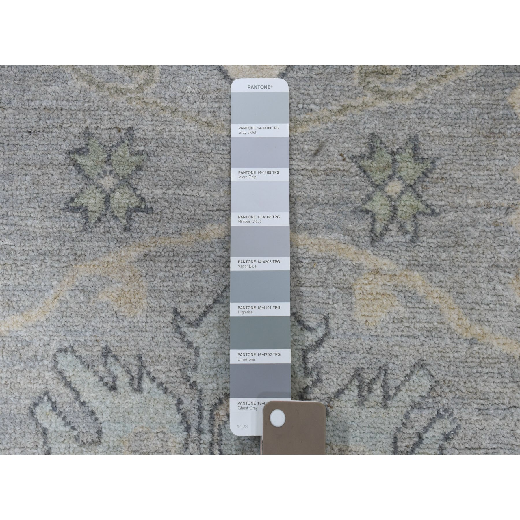 Agra And Turkish Collection Hand Knotted Grey 01102690 Rug