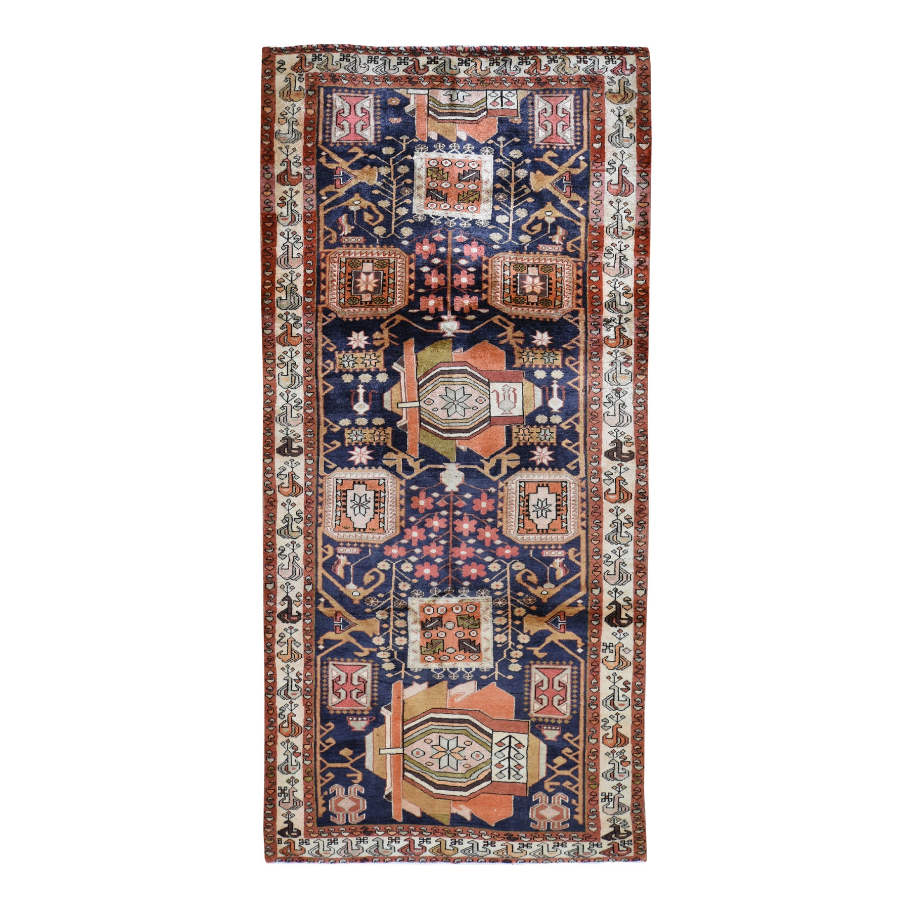 Classic Persian Collection Hand Knotted Blue Rug No: 0194146