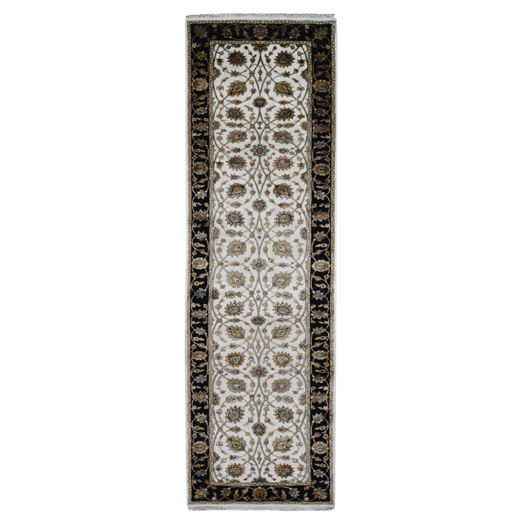 Pahlavi Collection Hand Knotted Ivory Rug No: 0194002